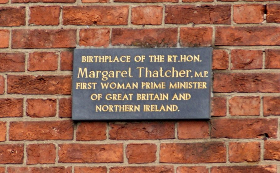 Birth Place Of Margaret Thatcher Grantham Lincolnshire