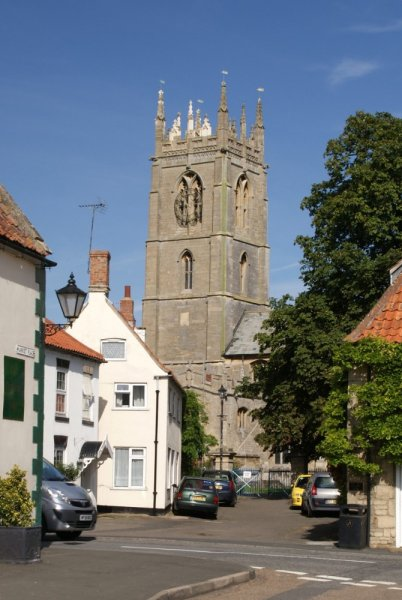 St Andrew's Church, Folkingham, Lincolnshire