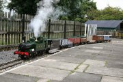 North Scarle Miniature Railway, Lincoln, Lincolnshire