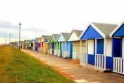 Sutton Beach Huts, Sutton on Sea, Lincolnshire