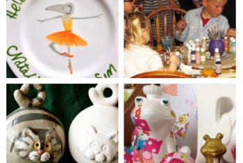 The Pottery Painting Cafe, Sleaford, Lincolnshire