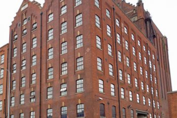 Victorian Flour Mill, Grimsby, Lincolnshire