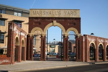 Marshalls Yard Shopping Complex, Gainsborough, Lincolnshire