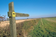The Viking Way, Thurlby, Lincolnshire