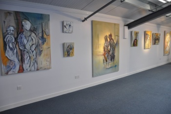 Blue Owl Art Gallery, Grantham, Lincolnshire