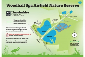 Woodhall Spa Airfield Nature Reserve, Woodhall Spa, Lincolnshire
