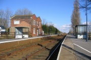 Swineshead Railway Station, Swineshead, Lincolnshire