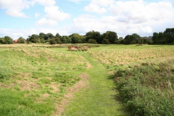 Sleaford Castle Earthworks, Sleaford, Lincolnshire