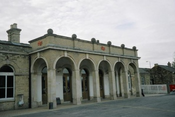 Boston Railway Station, Boston, Lincolnshire