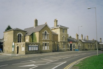 Spalding Railway Station, Spalding, Lincolnshire