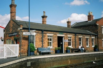 Heckington Railway Station, Heckington, Lincolnshire