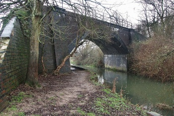 Coningsby Railway Bridge, Coningsby, Lincolnshire