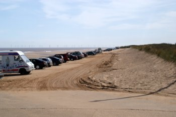 Huttoft Car Terrace Beach, Huttoft, Lincolnshire