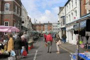 Louth Outdoor Market, Louth, Lincolnshire