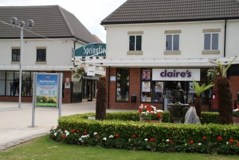 Springfields Outlet Shopping Centre, Spalding, Lincolnshire