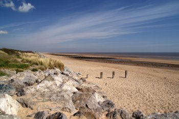 North Shore Beach, Skegness, Lincolnshire