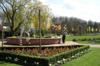 Springfields Festival Gardens, Spalding, Lincolnshire