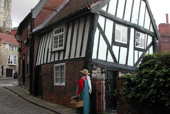 The Lincoln Medieval Walk, Lincoln, Lincolnshire