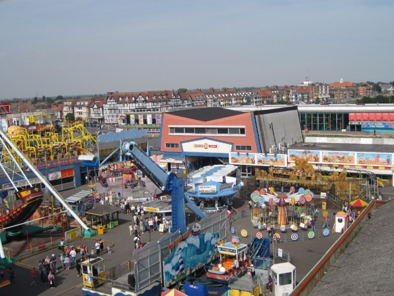 Pleasure Beach Theme Park, Skegness, Lincolnshire