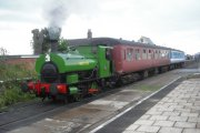 The Lincolnshire Wolds Railway, Ludborough, Lincolnshire